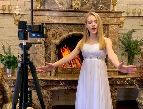 Зйомка VR-відео для Анжеліни МакФарлейн